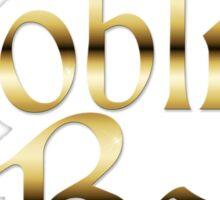 Labyrinth Goblin Babe (white bg) Sticker