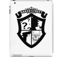 Baker Street Black iPad Case/Skin