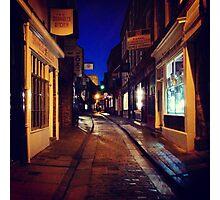 The Shambles at night Photographic Print