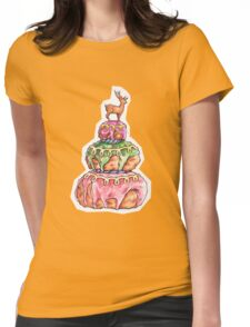 Mendl's Cake Womens Fitted T-Shirt