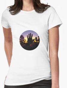 hand Womens Fitted T-Shirt