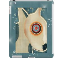 the bull terrier  iPad Case/Skin