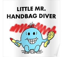 Mr Handbag Diver Poster