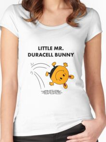 Mr Duracell Bunny Women's Fitted Scoop T-Shirt