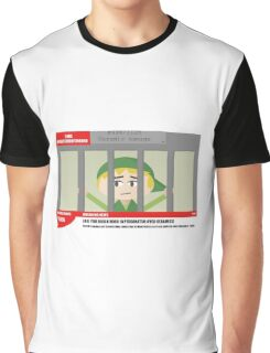 Link jailed for pottery damage (TV newsflash) Graphic T-Shirt