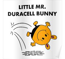 Mr Duracell Bunny Poster