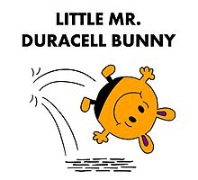 Mr Duracell Bunny Photographic Print