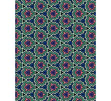 80's Style Pattern Photographic Print
