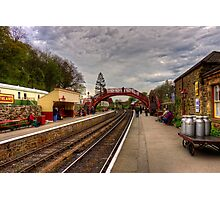 Goathand Station Platform Photographic Print