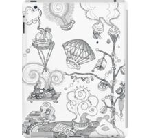 Living room - Magical home iPad Case/Skin
