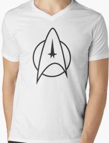 Star Trek - Starfleet insignia Mens V-Neck T-Shirt