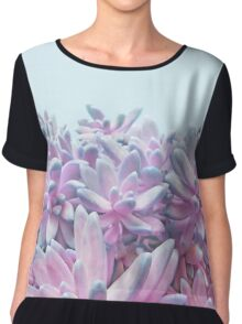 Sweet Succulents Chiffon Top