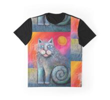 Scuffy cat larger  Graphic T-Shirt