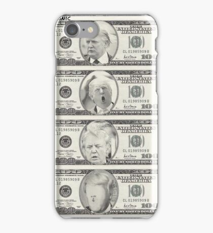 Donald Trump Dollar Bill iPhone Case/Skin