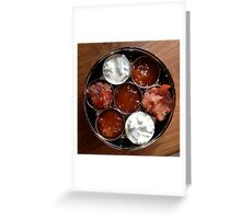 Pickle Tray Greeting Card
