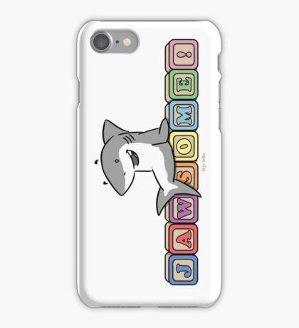 Jawsome Shark Blocks iPhone Case/Skin