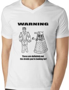 These are NOT the droids you are looking for! Mens V-Neck T-Shirt