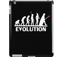 evolution from monkey to human iPad Case/Skin