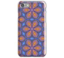 Knitted Flowers Pattern iPhone Case/Skin