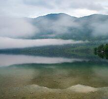 Lake Bohinj Slovenia by Nick Jenkins