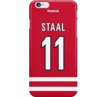 Carolina Hurricanes Jordan Staal Jersey Back Phone Case iPhone Case/Skin