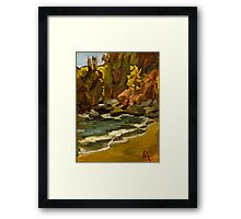 Mary's Cove, nr Brixham Framed Print