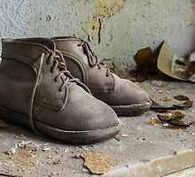 Child's Shoes, Dr. Anna's Clinic, Germany by Marissa Mancini