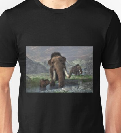 Woolly Mammoth  Unisex T-Shirt