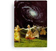Milky Way Dance Canvas Print