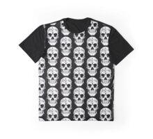 Human Skull 1 - Goth -Gothic Graphic T-Shirt