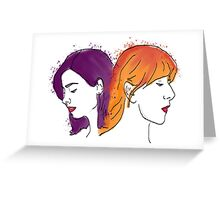 Two of a kind: Oswald &Noble Greeting Card