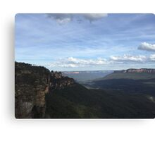 Blue Mountains - Seeing my 3 Sisters Canvas Print