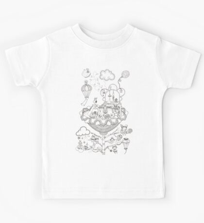 Kids room - Life in flowers Kids Tee