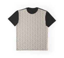 Moth pattern in neutral colours Graphic T-Shirt