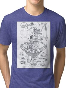 Kitchen - Life in flowers Tri-blend T-Shirt