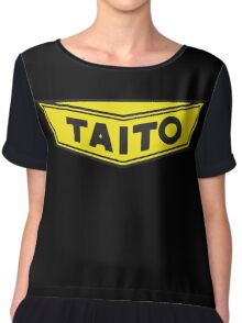 TAITO ARCADE GAMES CORPORATION Chiffon Top