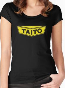 TAITO ARCADE GAMES CORPORATION Women's Fitted Scoop T-Shirt