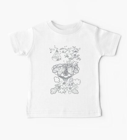 Living room - Life in flowers Baby Tee