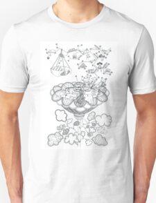 Living room - Life in flowers Unisex T-Shirt
