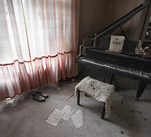 Piano Room, Dr. Anna's, Germany by Marissa Mancini