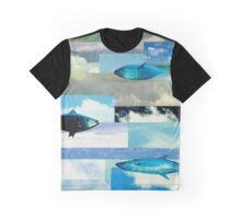 Cloud Fish Graphic T-Shirt
