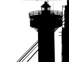 Lighthouse in the City Sticker