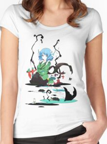Touhou - Wakasagihime Women's Fitted Scoop T-Shirt