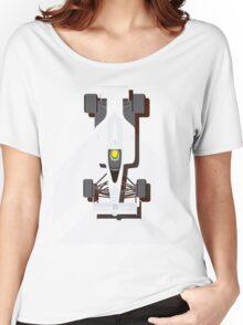 AYRTON SENNA MCLAREN MP4/4 1988 (1) Women's Relaxed Fit T-Shirt