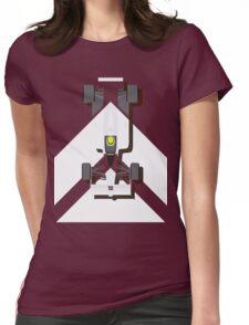 AYRTON SENNA MCLAREN MP4/4 1988 (1) Womens Fitted T-Shirt