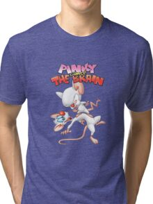 Steven Spielberg's Pinky and The Brain Tri-blend T-Shirt
