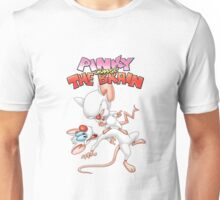 Steven Spielberg's Pinky and The Brain Unisex T-Shirt