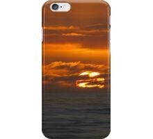 Atlantic ocean sunset - phone case iPhone Case/Skin
