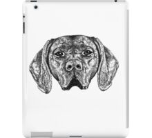 Pointer Dog Ink Drawing iPad Case/Skin