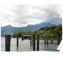 Lake Chiemsee  Poster